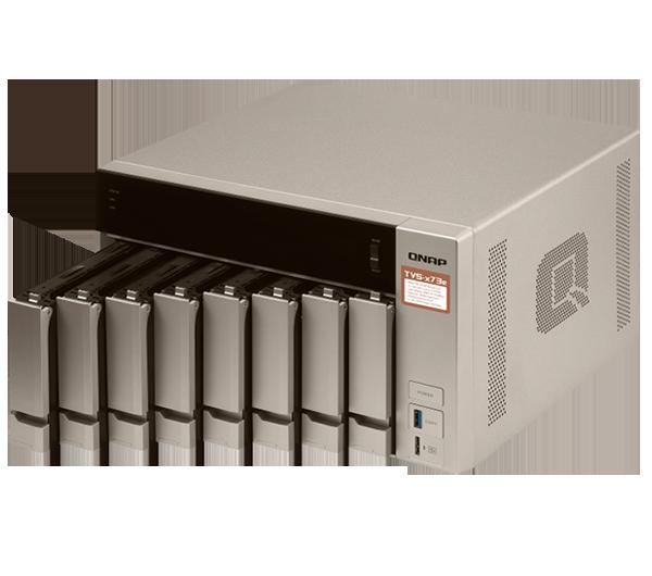 NAS-Serie TVS-x73e von QNAP