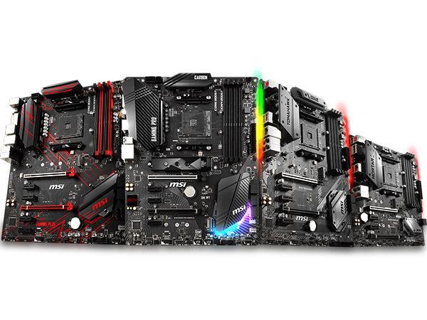1 nieuwe chipset – 12 nieuwe mainboardmodellen