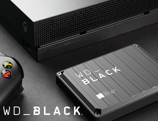 De gloednieuwe gaming harde schijven WD_BLACK met indrukwekkend design