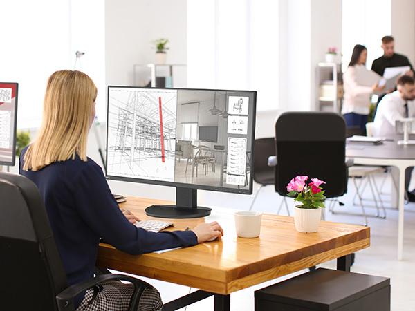 Business-Screens für erweiterte Büroanwendungen