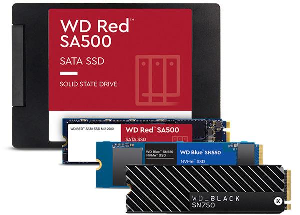Des SSD Western Digital puissants pour diverses applications