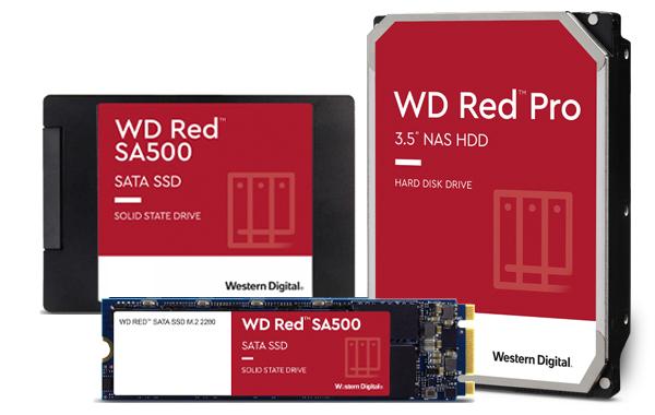 WD Red Festplatten und SSD